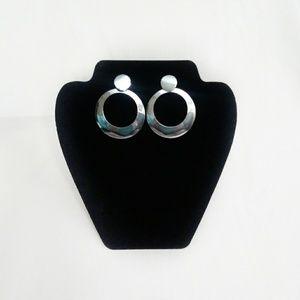 Jewelry - Retro Circular Metalic Earrings